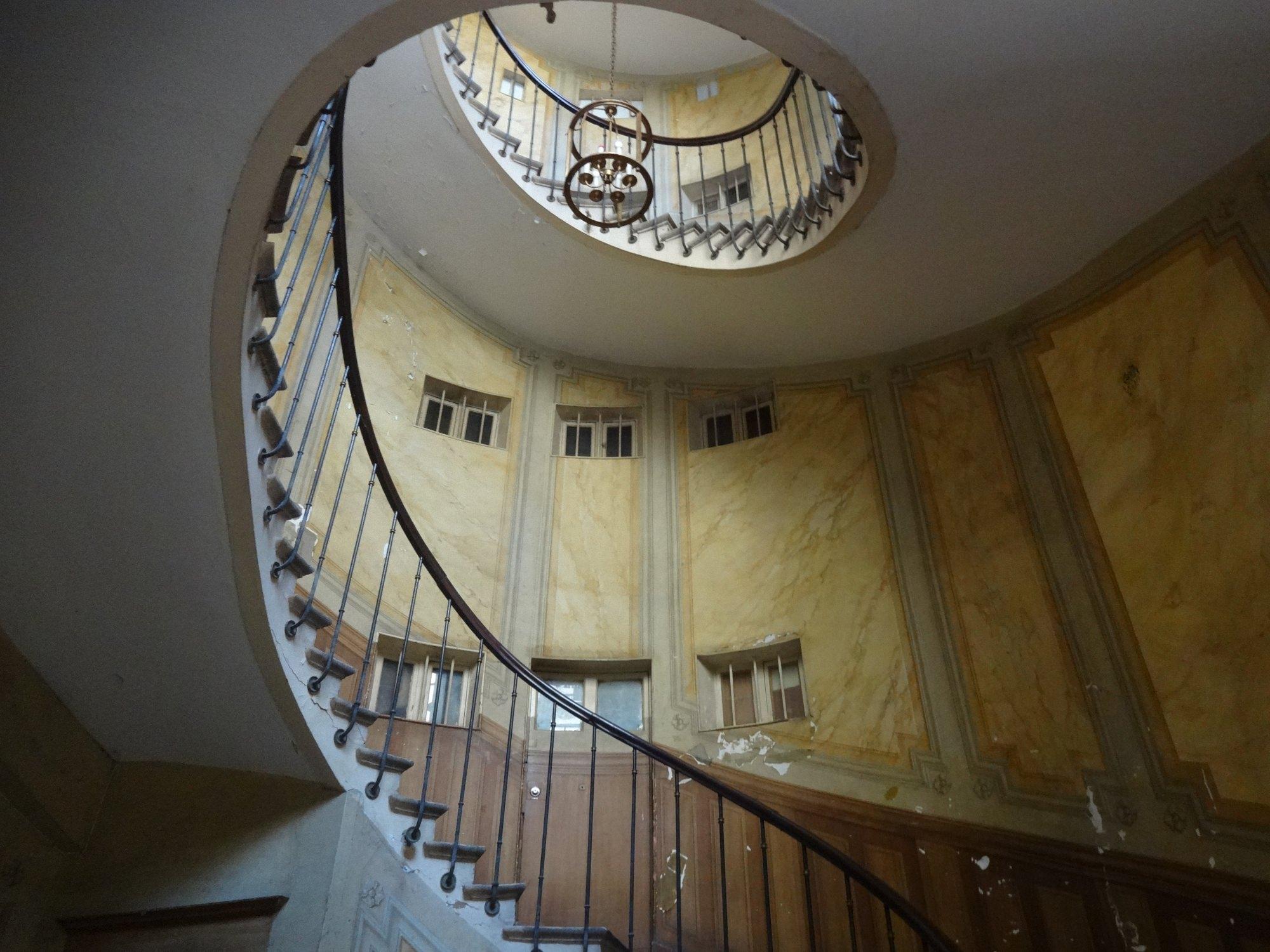 Escalier. Chez Totleben. Created by Ivan Stanev